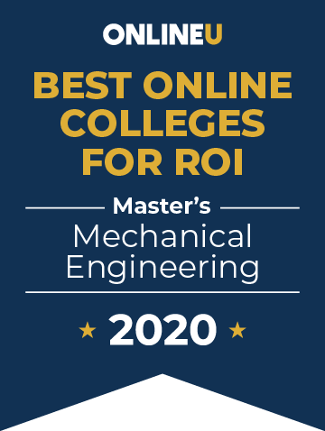 Best Online Colleges for ROI badge